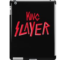 King Slayer (Jaime Lannister Shirt) iPad Case/Skin