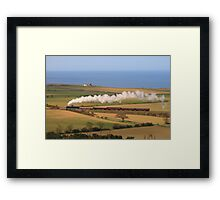 North Norfolk Landscape & Railway Framed Print