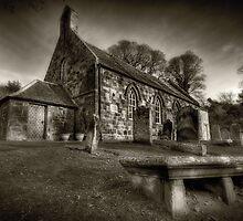 The Church Yard by Gary Moffat