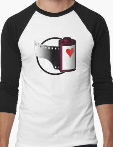 Love Film (or lose it?) Men's Baseball ¾ T-Shirt