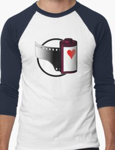 Love Film (or lose it?) Men's Baseball ¾ T-Shirt