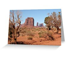 Monument Valley, Utah, USA Greeting Card