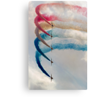 Formation of 5 Canvas Print
