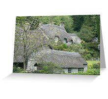 Thatched Hamlet Greeting Card