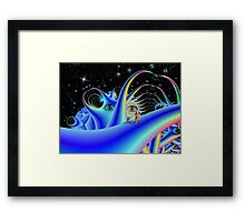 Space Time 174 Framed Print
