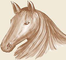 Horse Mane 3 by Thecla Correya