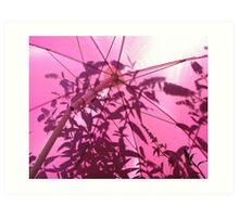 Under the Parasol Art Print