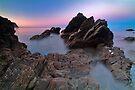 Jackson Bay Sunset by Paul Mercer
