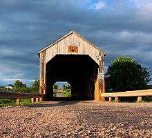 Smith Creek #1 (Tranton 1927) Covered Bridge by Jamie Roach