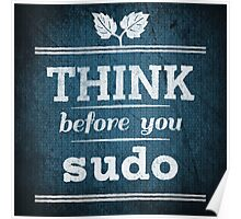 Think Before You Sudo Poster