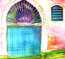 Venetian Doorway II: Only in Venice... by Christiane  Kingsley