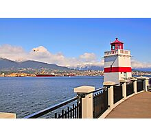 Vancouver and Stanley Park Photographic Print