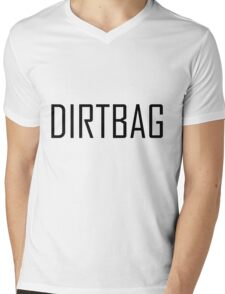 Teenage dirtbag- black version  Mens V-Neck T-Shirt