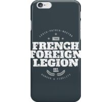 French Foreign Legion - Honour and Fidelity iPhone Case/Skin