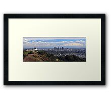 View of Los Angeles Framed Print