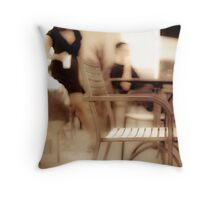 If I asked for a cup of coffee, someone would search for the double meaning Throw Pillow