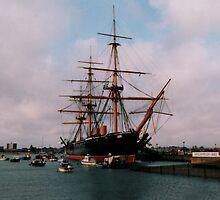 HMS Warrior by suewen
