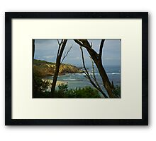 Sorrento back beach Framed Print