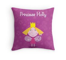 Princess Holly Throw Pillow