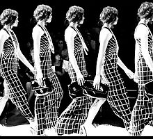 Diet Coca Cola Little Black Dress Show  by David Petranker