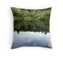 Reflect The Sky Throw Pillow
