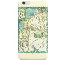 Hand painted custom Middle Earth design iPhone Case/Skin