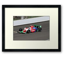 TK Quick Framed Print