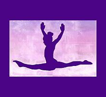 The Gymnast ~ Purple Version by Susan Werby