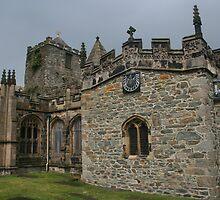 St Cybi's Church - Holyhead, Wales by Allen Lucas