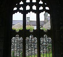 St. Cybi's Church - Entrance by Allen Lucas