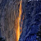 "Horsetail Falls-""Firefall"" by Donn Hoyer"