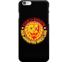 New Japan Pro Wrestling Logo iPhone Case/Skin