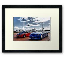 Nathan - 8 Framed Print