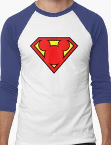 Super Mickey Men's Baseball ¾ T-Shirt