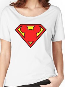 Super Mickey Women's Relaxed Fit T-Shirt