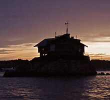 """Island House"" - Newport Harbor Series - © 2009 by Jack McCabe"
