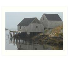 More Peggy's Cove, Nova Scotia. Art Print