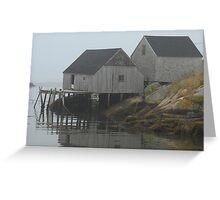 More Peggy's Cove, Nova Scotia. Greeting Card