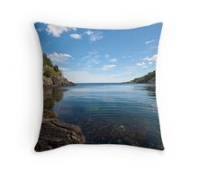 Paradis sous La Manche Throw Pillow