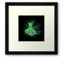 Abstract dress Framed Print