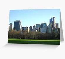 CONCRETE JUNGLE EATING NATURE Greeting Card