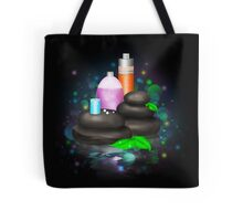 Bright illustration of spa cosmetics Tote Bag