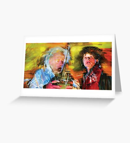 Back in Time Greeting Card