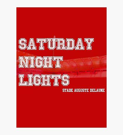 Saturday Night Lights Photographic Print