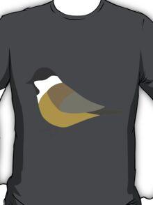 Willow Tit Bird / Poecile Montanus T-Shirt