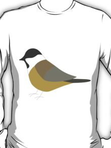 Willow Tit Bird / Poecile Montanus T-Shirt