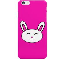 Rabbit Face iPhone Case/Skin