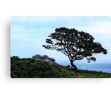 Boughing To Nature Canvas Print