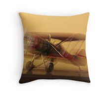 """B b bi - plane"" Throw Pillow"