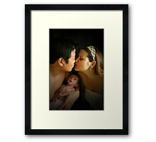 Because Two People Fell in Love Framed Print